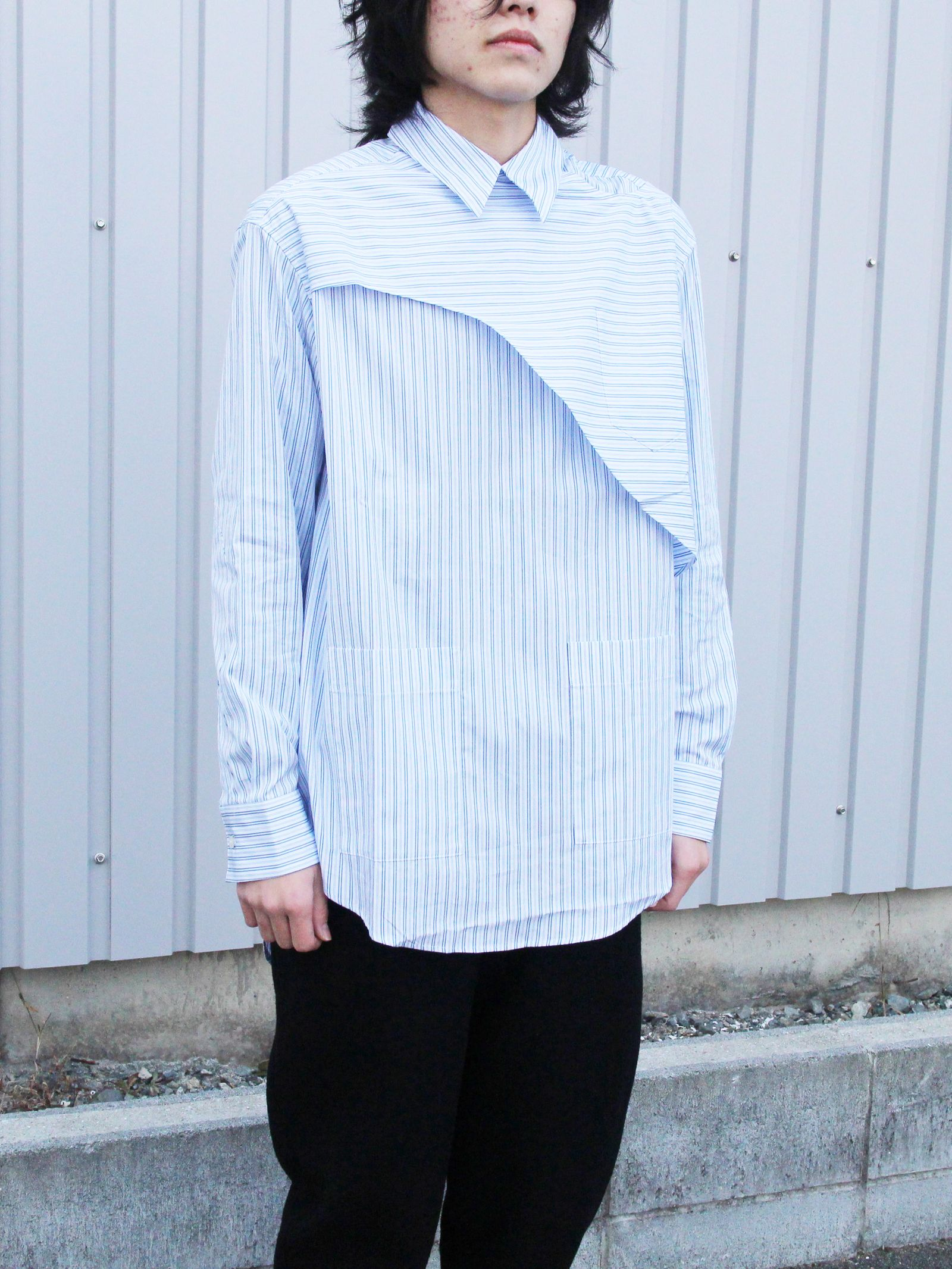 YUKI TORII デニム調スーツ制服|事務服・受付制服|事務服・受付